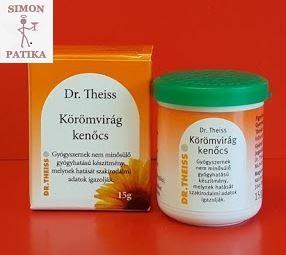 Dr Theiss körömvirág kenőcs seb égés gyulladás