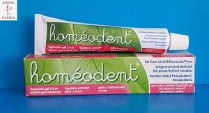 Homeodent homeopátiás fogkrém gyerek mentol mentes