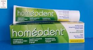 Homeodent homeopátiás fogkrém mentol mentes citrom