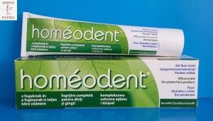 Homeodent klorofil fogkrém homeopátiás mentol mentes