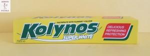 Kolynos fogkrém fehérítő
