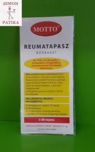 Motto reuma tapasz