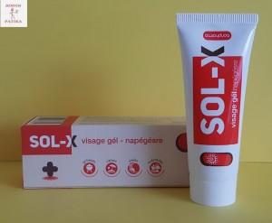 Sol-X Visage gél napégésre
