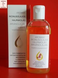 Aromax ricinus olaj hajpakolás argánolaj