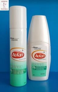 Autan Protect szúnyog és kullancs riasztó aerosol