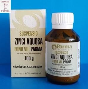 Cink rázó Suspensio zinci aquosa csípés után
