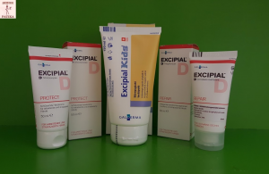 Excipial Protect, Repair, Excipial U