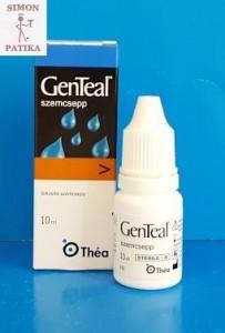 GenTeal szemcsepp, műkönny száraz szem