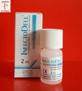 InfectoDell szemölcs elleni ecsetelő