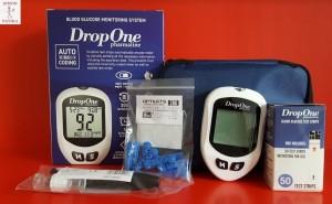 Jutavit vércukormérő + tesztcsík