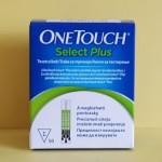 One Touch Select Plus tesztcsík vércukormérő