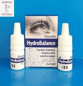 Starazolin Hydrobalance szemcsepp, műkönny száraz szem