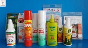Szúnyog és kullancs riasztó spray, krém, aerosol