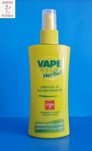Vape Derm Herbal szúnyog és kullancs riasztó pumpás spray