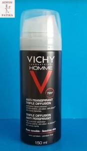 Vichy Homme deo spray izzadásgátló 72 óra