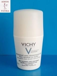 Vichy izzadásgátló golyós dezodor érzékeny, epilált bőrre