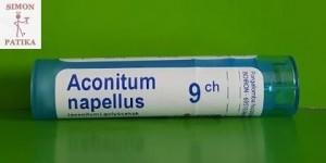 Aconitum napellus C 9 Boiron napozás, napégés, pánik, stressz