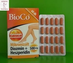 Bico Diozmin + Heszperidin  tabletta visszér