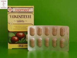 Biomed Vadgesztenye krém, tabletta visszér