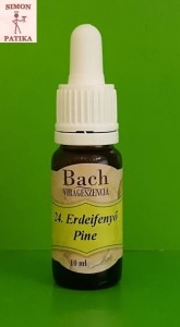 Erdeifenyő Pine Bach virágeszencia