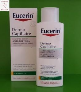 Eucerin Dermo Capillare sampon száraz korpa haj