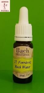 Forrásvíz Rock Water Bach virágeszencia