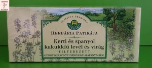 Herbária Kakukkfű tea köhögés
