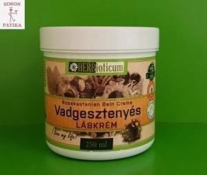 Herbioticum vadgesztenyés krém visszér