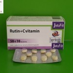 Jutavit Rutin + C tabletta visszér, érrendszer