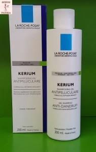 La Roche- Posay Kerium Zsíros Korpa elleni sampon