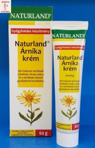 Naturland Árnika krém sérülés, gyulladás, csípés