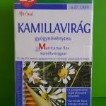 Naturland Kamillavirág tea gyulladás, emésztés, inhalálás