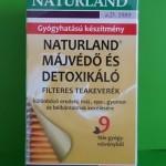 Naturland Májvédő és detoxikáló tea
