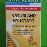 Naturland Nyugtató tea alvás stressz idegesség