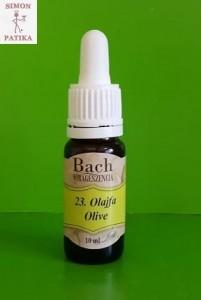Olajfa Bach virág esszencia