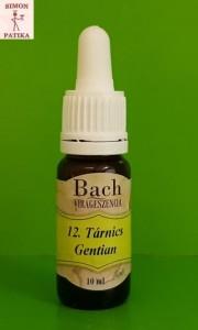 Tárnics Gentian Bach virágeszencia