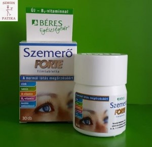 Béres Szemerő Forte szem erősítő vitamin