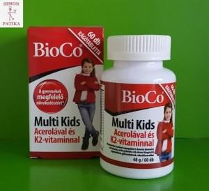 Bioco Multi Kids Acerola immun erősítő gyerek