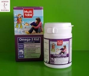 Multi-Tabs Omega3 Kid rágótabletta okosító