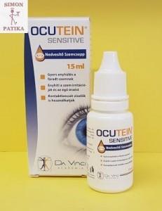 Ocutein Sensitive szemcsepp, műkönny