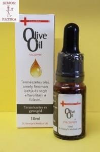 Olive oil fülcsepp fülzsír