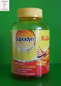 Supradyn Kids omega3 és kolin vitamin