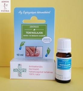 Aromax teafaolajos köröm lábápoló ecsetelő