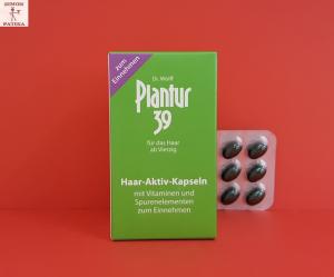 Plantur 39 Haj - Aktív kapszula hajhullás