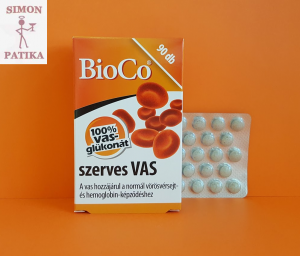 BioCo Szerves vas tabletta