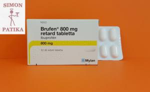 Brufen 800 mg retard tabletta fájdalom