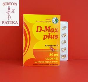 D-Max Plus D3 vitamin kapszula