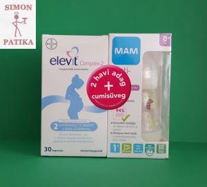 Elevit Complex 2+ MAM cumisüveg