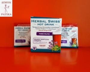 Herbal Swiss Hot Drink italpor megfázás