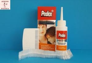 Pedex fej tetű és serke irtó hajszesz